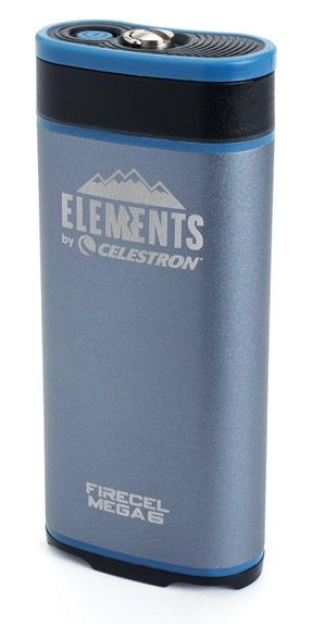 Firecel MEGA 6:Nuovo 3 in 1 di casa Elements® batteria portatile, scaldamani e torcia LED