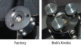 Knobs for Celestron C6-N/NGT, C8-N/NGT, and C10-N/NGT Secondary [EN]