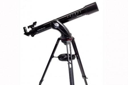 Telescopio rifrattore diametro 90mm con 910mm di focale - completamente controllato da tablet o smartphone grazie all'APP gratuita