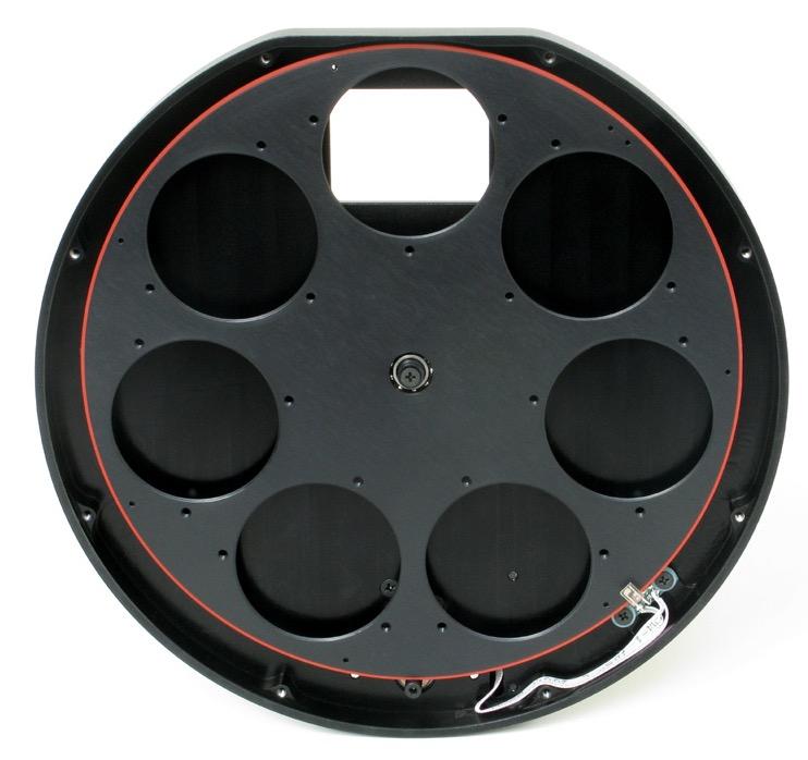Ruota portafiltri per camere CCD Moravian G3 - 7 posizioni per filtri da 50,8mm montati in cella e non montati in cella da 50mm
