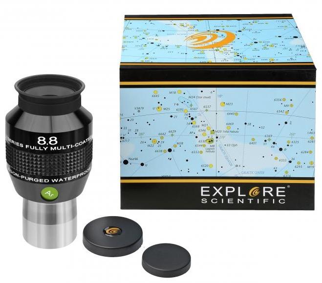 OculareExplore Scientific conbarilotto da 31.8mm- campo apparente 82°- lunghezza focale 8.8mm