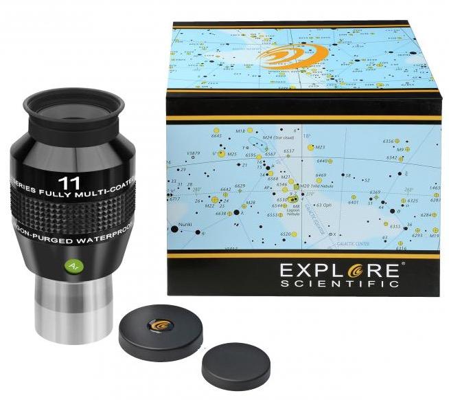 OculareExplore Scientific conbarilotto da 31.8mm- campo apparente 82°- lunghezza focale 11mm