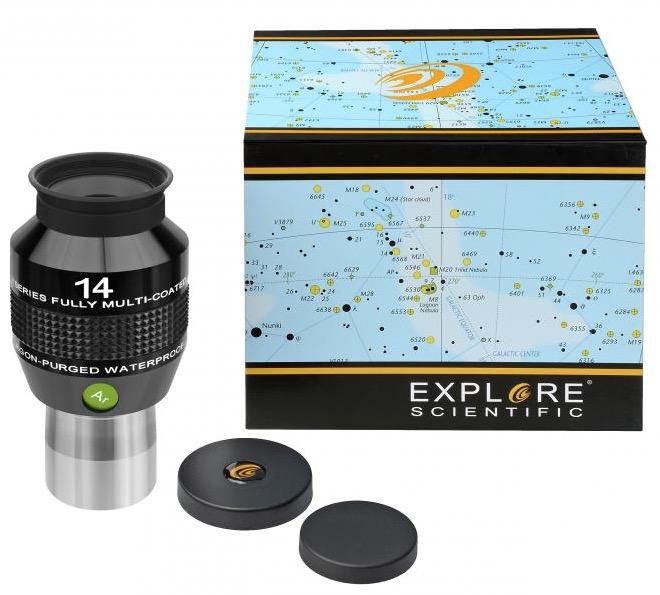 OculareExplore Scientific conbarilotto da 31.8mm- campo apparente 82°- lunghezza focale 14mm
