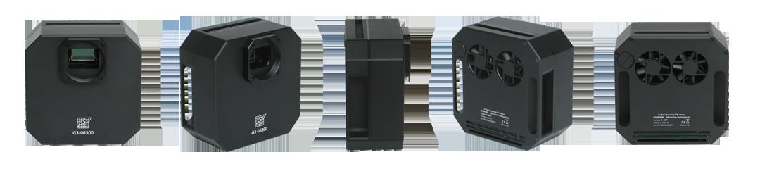 Moravian CCD G3-11000 Mono da 11 Mpx (4032 x 2688)con ruota portafiltri da 5 posizioni per filtri da 50,8mm - Classe 1