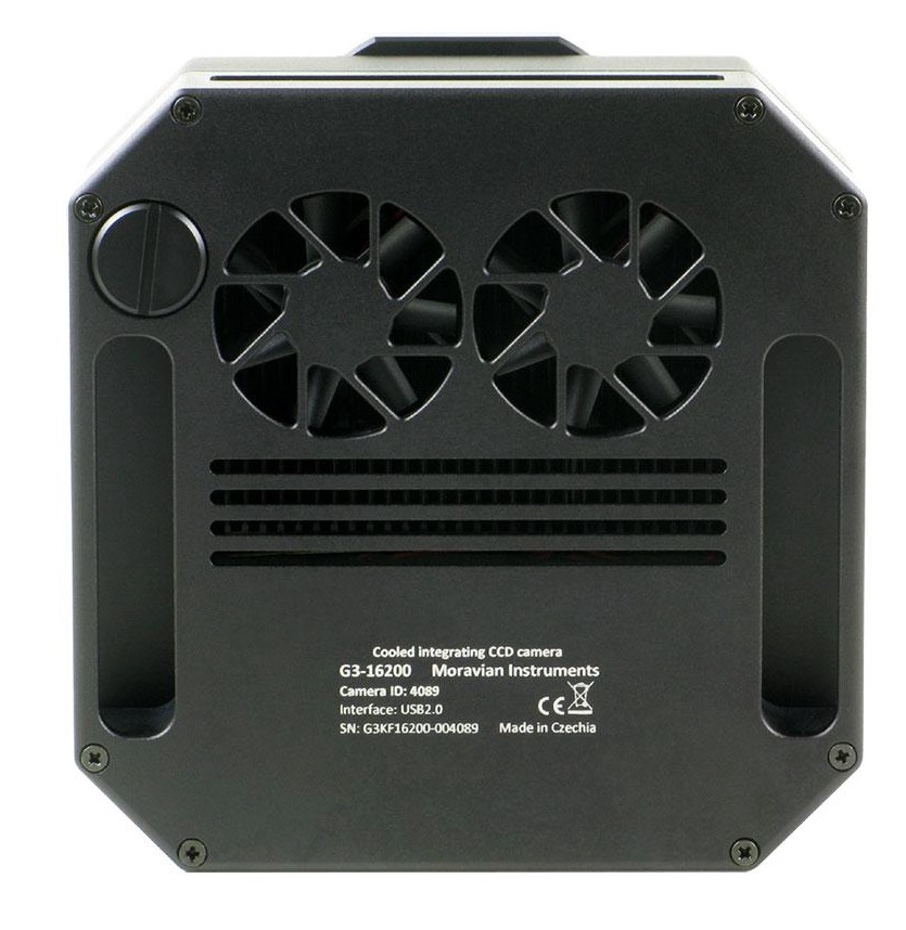 Moravian CCD G3-1000FW Mono da 1 Mpx (1024 x 1024)con ruota portafiltri da 5 posizioni per filtri da 50,8mm - Classe 1