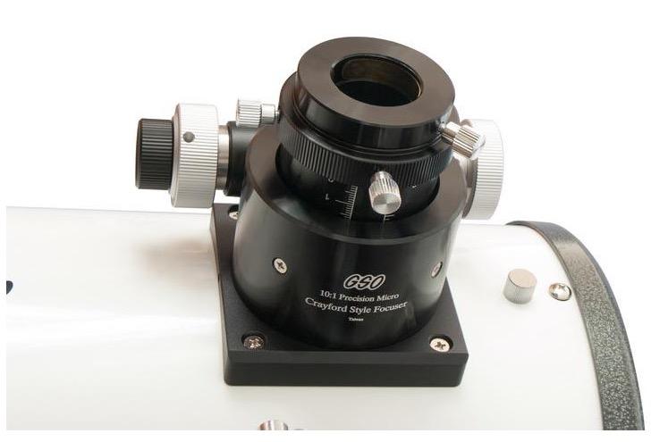 Dobson GSO 680 rapporto focale 200/1200 versione Deluxe con base in legno e tubo chiuso