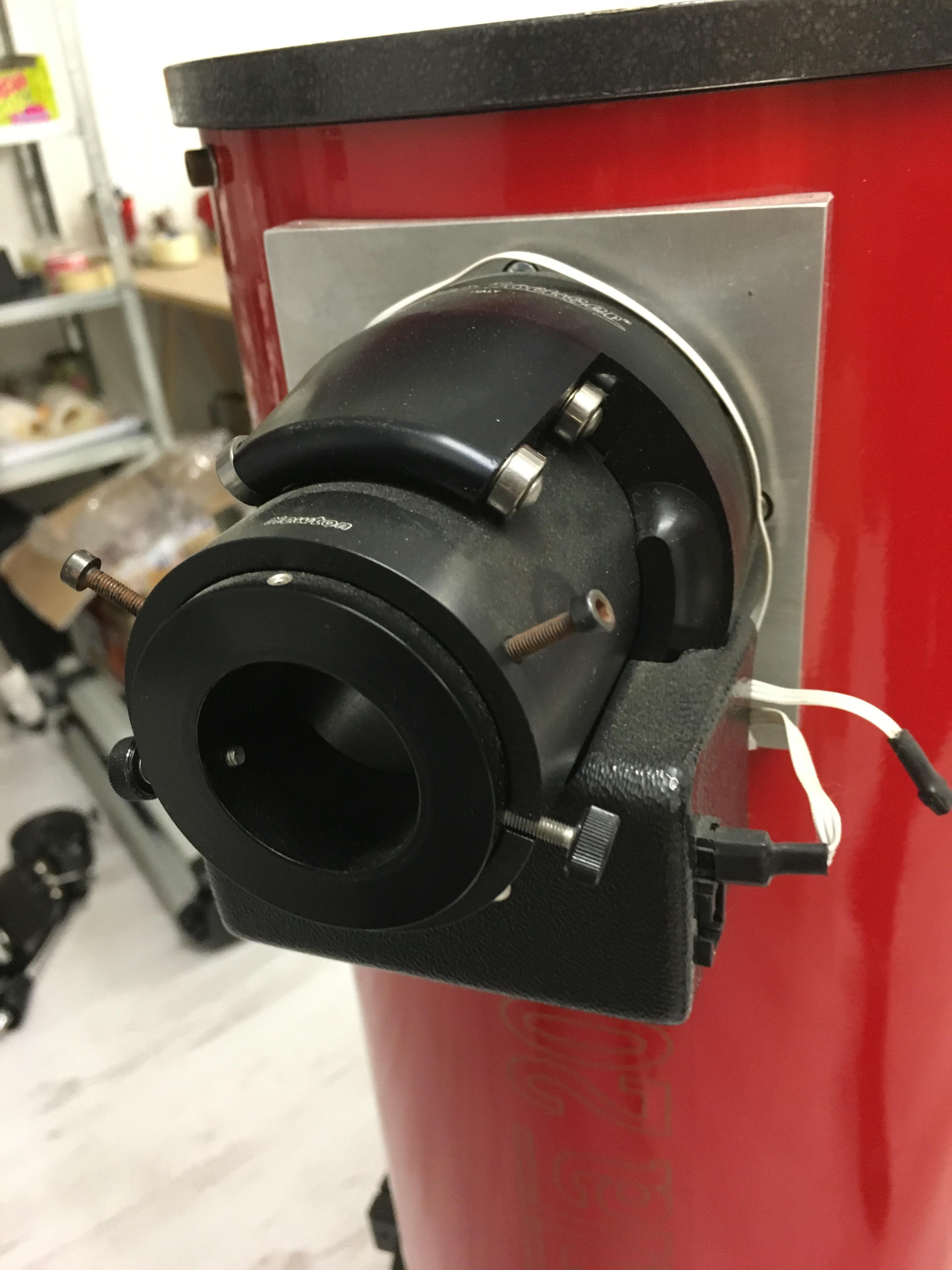 Newton 200/1200 con ottiche Giacometti ed intubazione Geoptik - valore del nuovo oltre 2000€