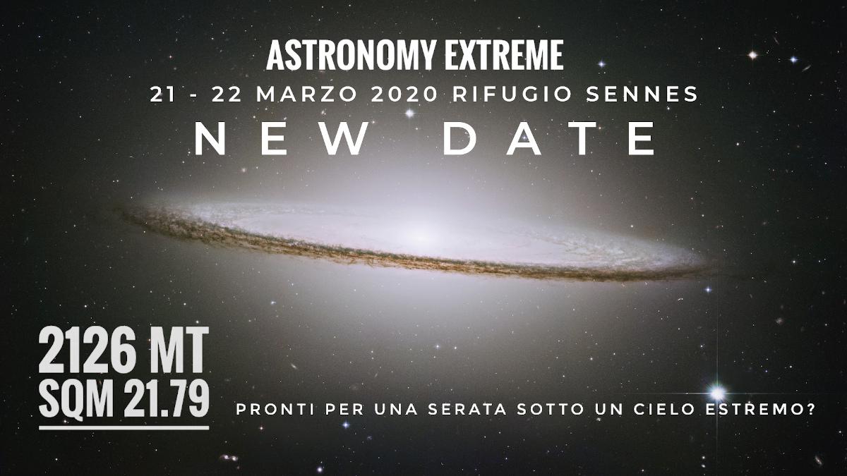 Sessione di astronomia in alta montagna. Un approccio ibrido all'outdoor e all'astronomia, in ambienti remoti e di incomparabile bellezza.