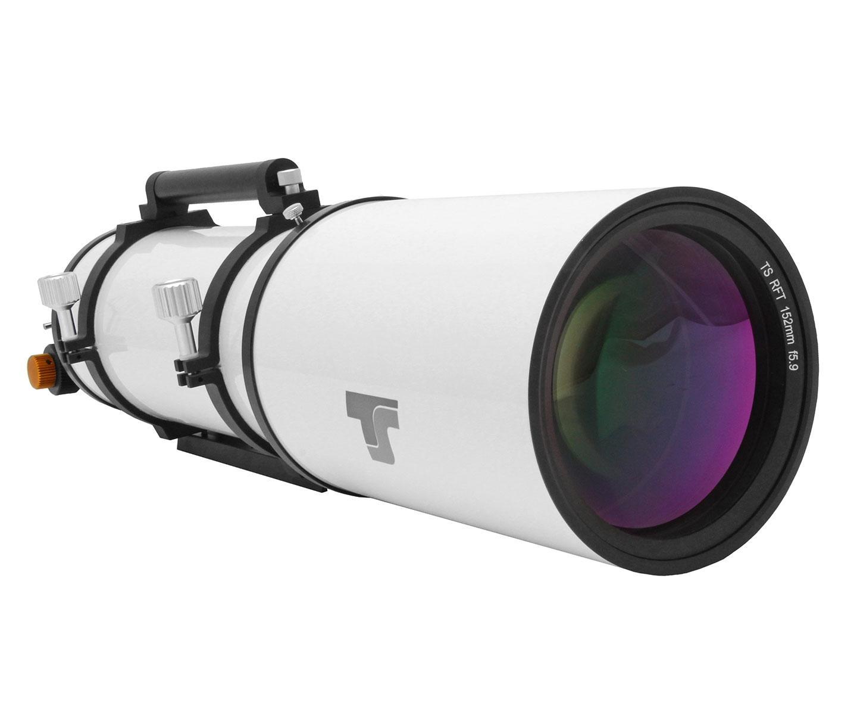 """Rifrattore acromatico TS Individual 152/900mm con focheggiatore Pignone e Cremagliera da 2.5"""""""