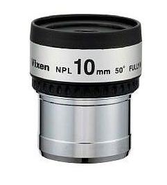 Il Vixen NPL 10mm è un oculare Ploss da 10mm di focale e 6.5mm di estrazione pupillare con 50 gradi di campo