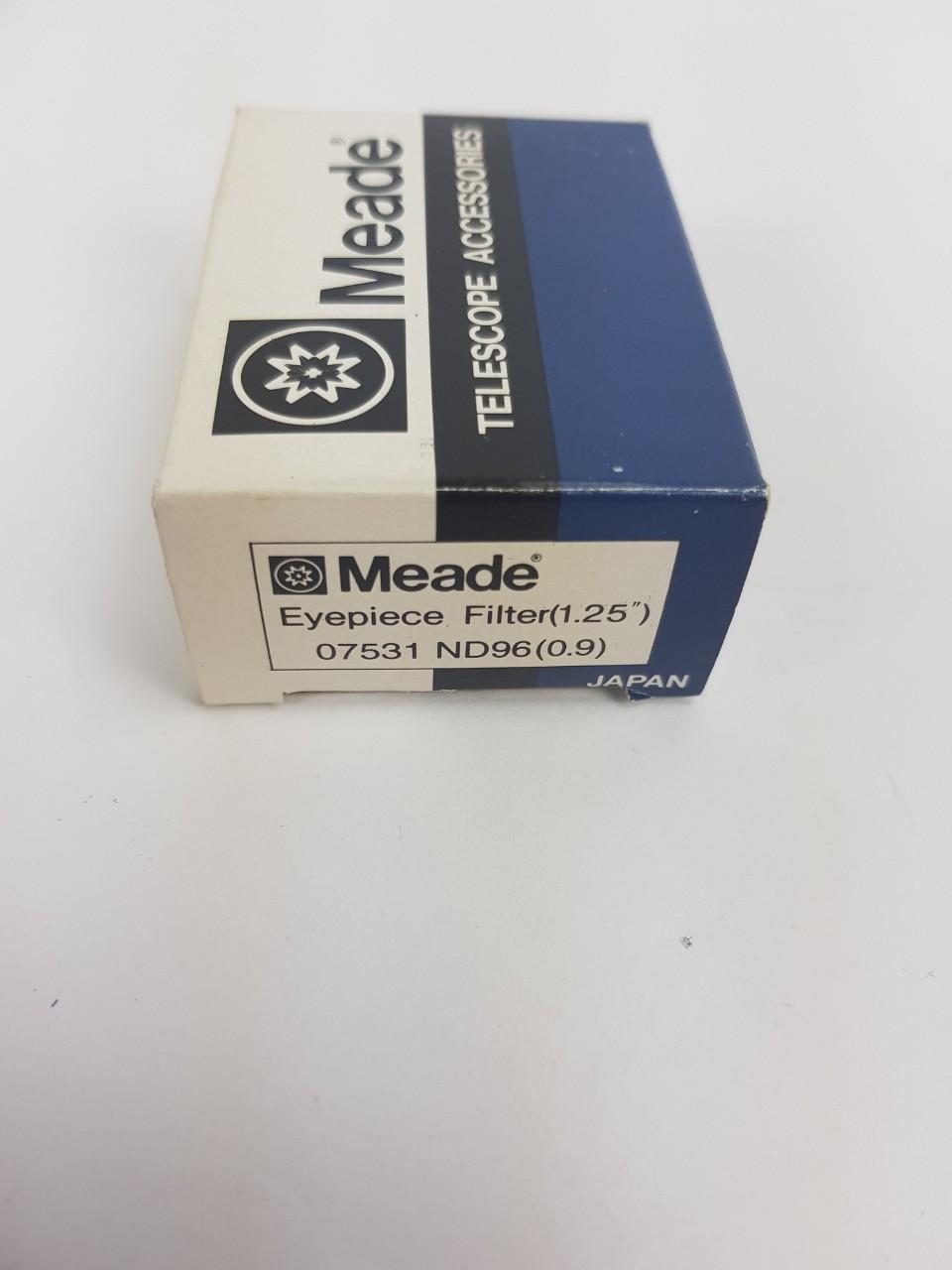 Filtro Meade fotovisuale (neutro ND96 al 13%) del diametro di 31,8 mm Serie 4000.- Usato, completo di dotazione originale
