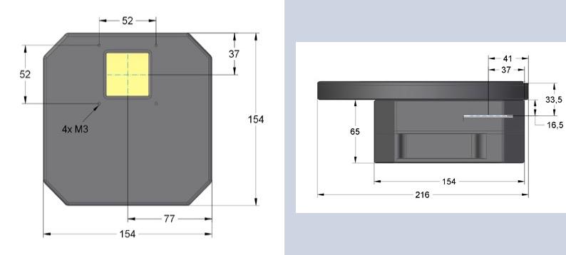 Camera Moravian CCD modello G4-9000 Monocromaticacon sensore CCD KAF-09000da 9 Mpx(3056 x 3056)