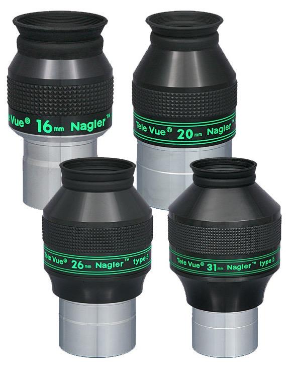 Oculare Nagler con barilotto da 31.8mm - campo apparente 82°- lunghezza focale 16mm - Type 5