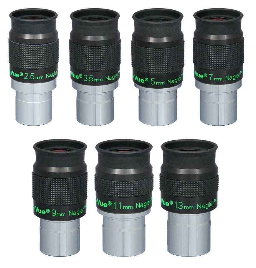 Oculare Nagler con barilotto da 31.8mm - campo apparente 82°- lunghezza focale 9mm - Type 6