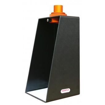 La piramide di Hossefield permette la proiezione di immagini solari in luce bianca.