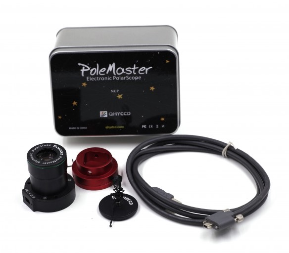 PoleMaster è un cannocchiale polare elettronico ad alta precisione facile da usare - versione per G11