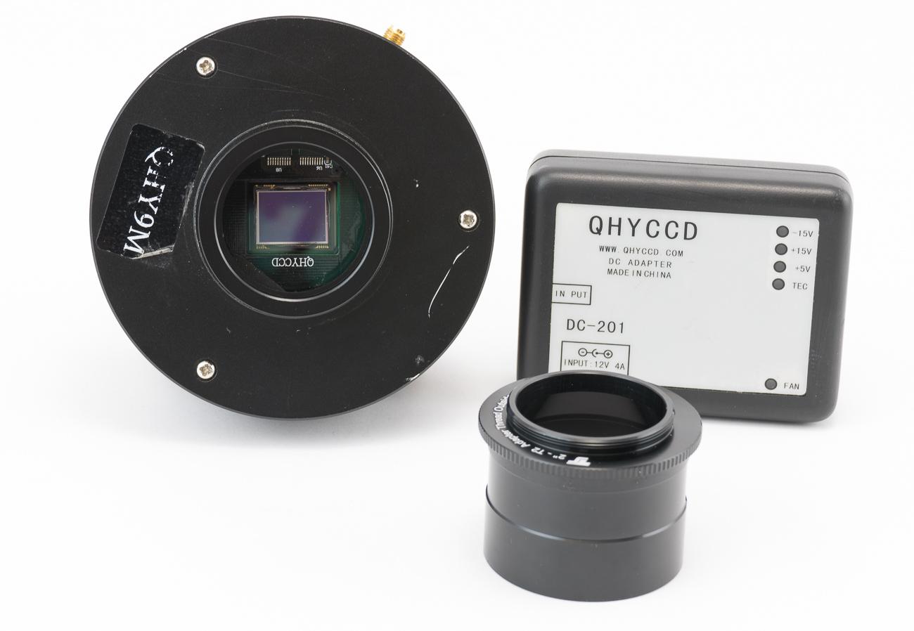 Camera CCD monocromatica QHY9 da 8,6Mpx, raffreddata a -50° -  Usata condizioni ottime - leggera difettosità nella gestione dell'otturatore