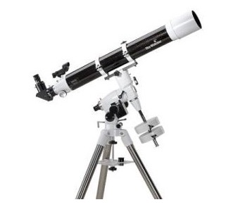 Telescopio Sky Watcher serie Balck Diamond rifrattore 102/1000 su montatura equatoriale EQ3
