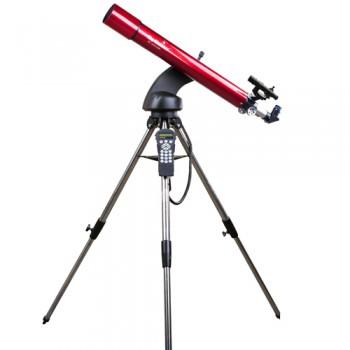 Telescopio Sky Watcher Star Discovery 80R completo di montatura Altazimutale computerizzata con puntamento automatico.