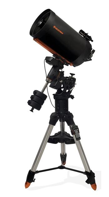 CGE PRO 1400 Fastar - te lescopio Schmidt-Cassegrain da 355mm f/11 con robustissima montatura equatoriale alla tedesca CGE-PRO computerizzata
