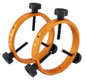 Coppia di anelli di guida dal diametro interno di 130mm