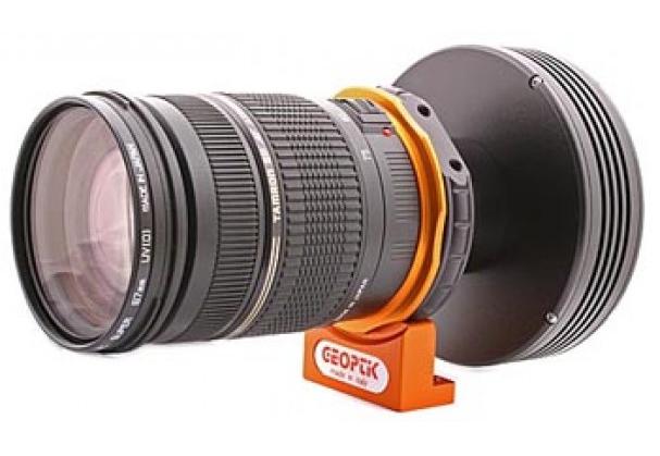 Adattatore per CCD per obiettivi Nikon digitali tramite filetto T2 - spessore 19 mm