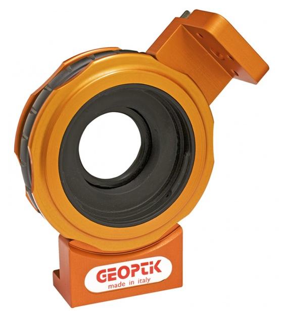 Supporto per cercatore da collegare agli adattatori Geoptik per Canon e Nikon.