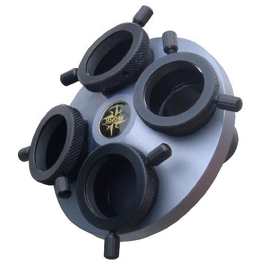 Revolver per 4 oculari da 31,8 mm a bassissimo profilo