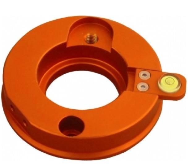 Flangia di connessione per montatura EQ5/HEQ5/AZEQ5su treppiede EQ6