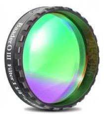 """Filtro OIII visuale da 1¼"""" (31.8mm) con banda di 8nm. Ideale per migliorare l'osservazione delle nebulose planetarie, ad emissione e resti di supernova"""