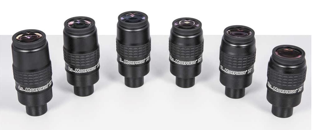 """Oculare Baader Morpheus da 6.5mm con campo apparente 76° - barilotto da 31,8mm e 2"""""""