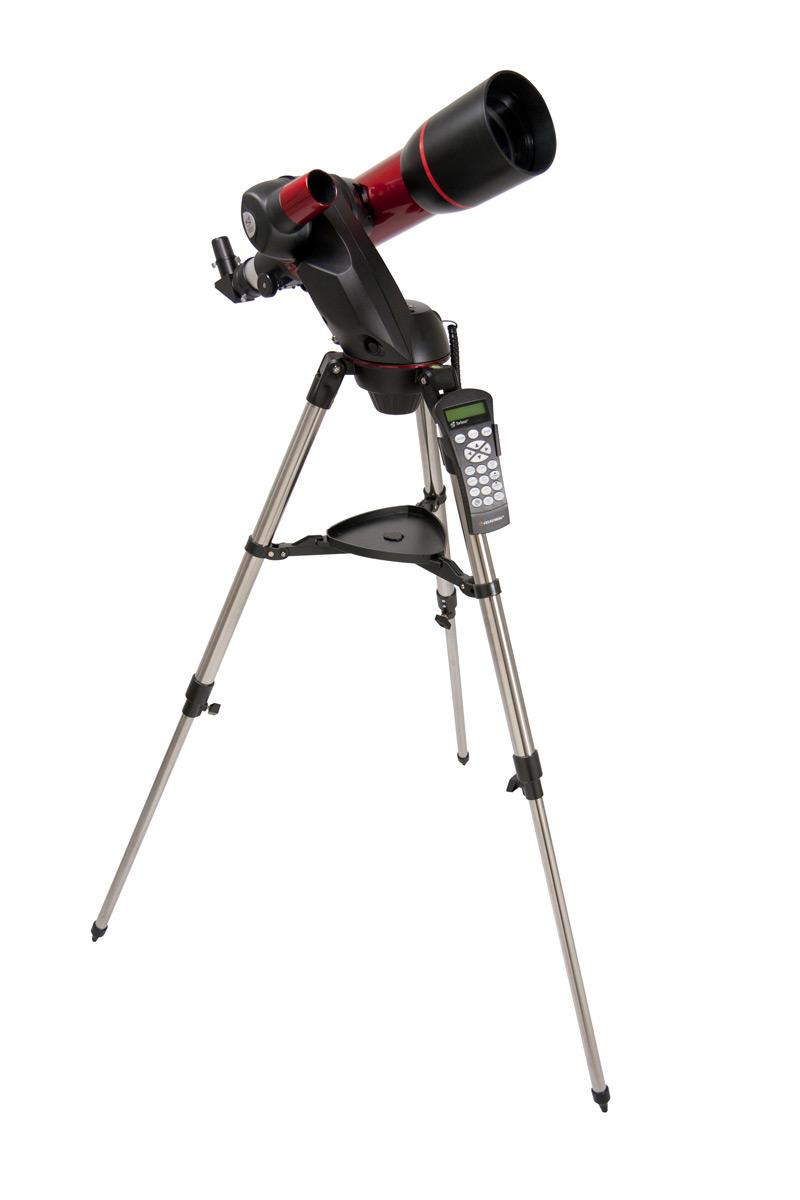 Telescopio rifrattore compatto da 102mm con montatura computerizzata SkyProdigy