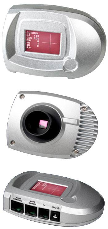 Camera SynGuider - per autoguida senza la necessità del PC. Collegata al telescopio guida permette di guidare automaticamente la posa con la massima precisione.