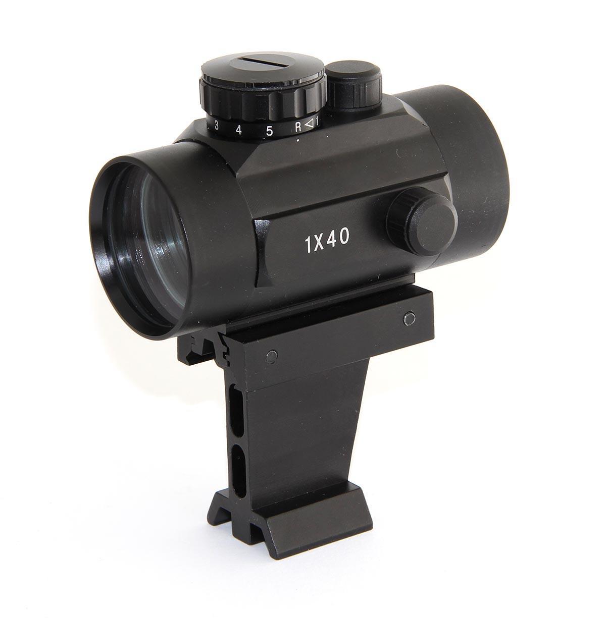 TS-Optics SkyfinderV LED Red Dot Finder - completely of metal[EN]