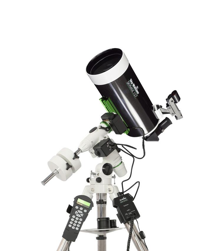 Telescopio Sky Watcher serie SkyMax Maksutov Cassegrain 127/1500su montatura equatoriale EQM 35 Synscan