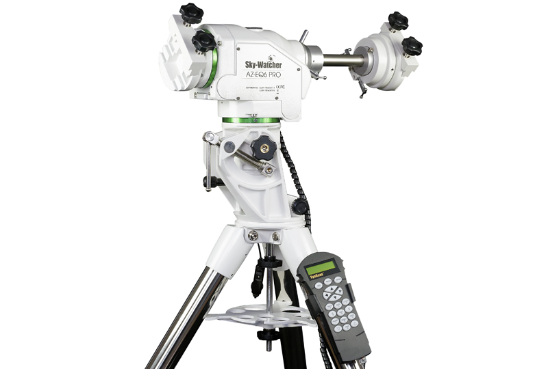 Montatura Equatoriale Altazimutale Skywatcher AZ EQ6 SynScan - Usata come esposizione in Negozio