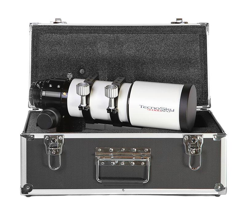 Tripletto Apo FPL53 Tecnosky 80/480mm V2 completo di spianatore 0.8x