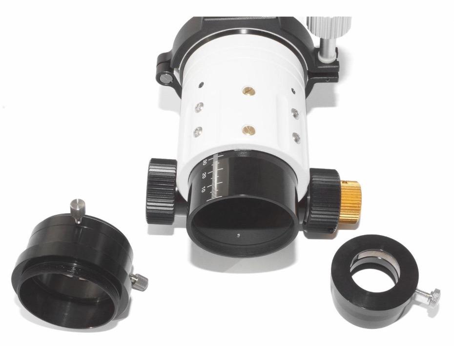 """Nuovo TS Optics Super APO 80mm f/6 - tripletto FPL-53 -focehggiatore pignone e cremagliera 2,5"""""""