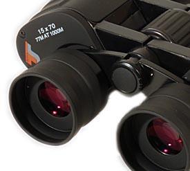 Binocolo TS di grande apertura15x70 LE (Long Eye-Relief)