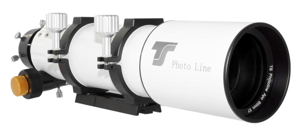 Doppietto APO TS Photoline 80mm f/7 FPL53 - focehggiatore pignone e cremagliera