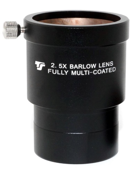 """Lente di Barlow TS da 2"""" - 2.5x APO - 4 elementi - short design"""
