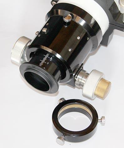 """Adattatore ts m48 per focheggiatori crayford da 2"""" con filetto M54 - telescopi TS APO ed ED"""