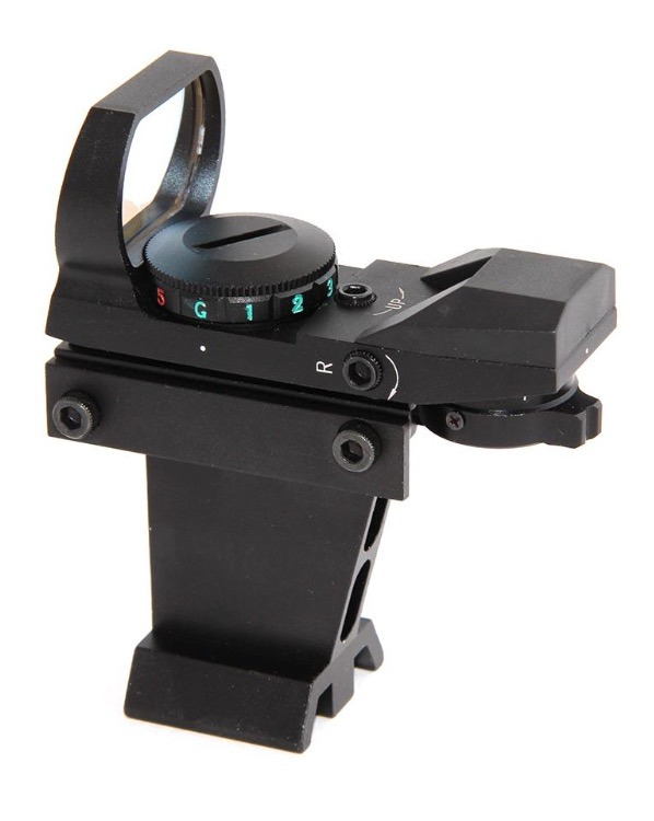 Cercatore Red Dot TS Optics in metallo con supporto per basette Vixen