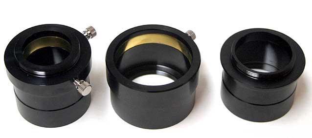 """TS-Optics eyepiece projection adaptor deluxe 2"""" to 1.25"""" [EN]"""