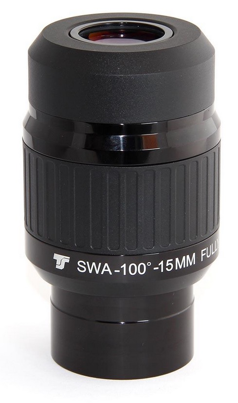 Oculare a grande campo da 100° TS SWA Ultra Series da 15mm - barilotto da 50,8mm