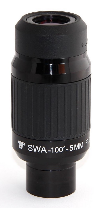 Oculare a grande campo da 100° TS SWA Ultra Series da 5mm - barilotto da 31,8mm