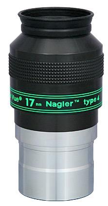 Oculare Nagler con barilotto da 50.8mm - campo apparente 82°- lunghezza focale 17mm - Type 4