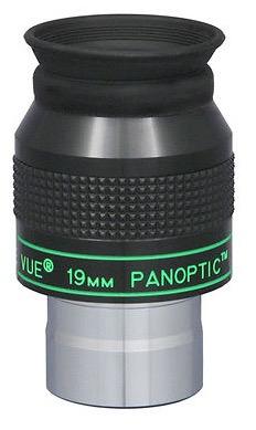 Oculare Panoptic con barilotto da 31.8mm - campo apparente 68°- lunghezza focale 19mm