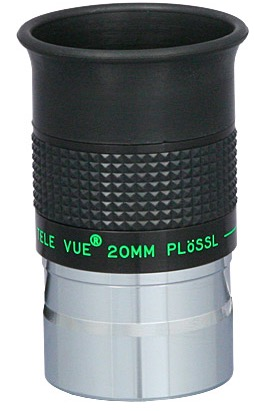 Oculare Plossl con barilotto da 31.8mm - campo apparente 50°- lunghezza focale 20mm