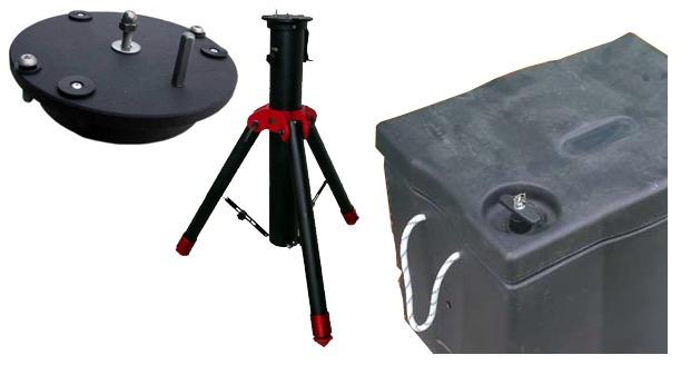 Treppiede GHS MkII- stabilità e facilità di utilizzo